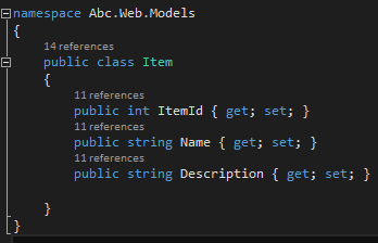 add properties to class